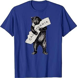 Retro I Love California Shirt Art-Vintage Cali Pride Bear T-Shirt