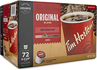 Tim Hortons Single Serve Coffee Original Blend K-Cup Pods for Keurig Coffee Makers (72-Count)