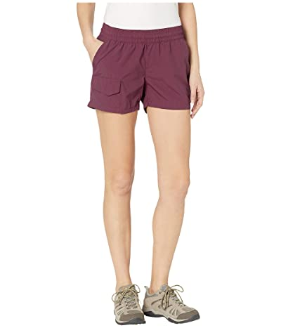 Columbia Silver Ridge Pull On Shorts (Deep Madeira) Women