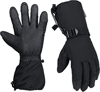 OZERO -30℉ Cold Winter Skiing Snowboarding Gloves For Men And Women Waterproof