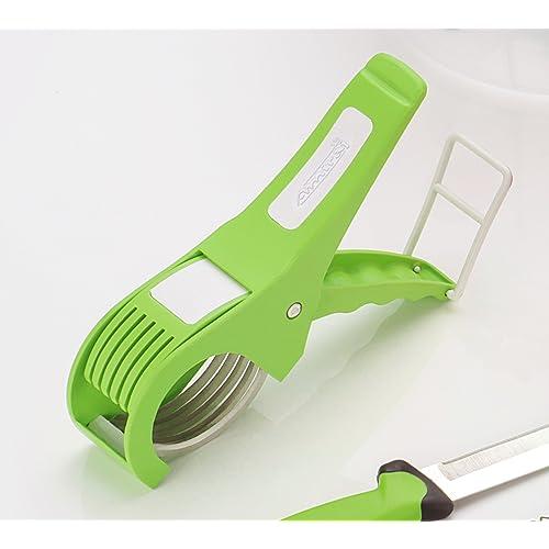 Amiraj Plastic Vegetable Cutter, White/Green