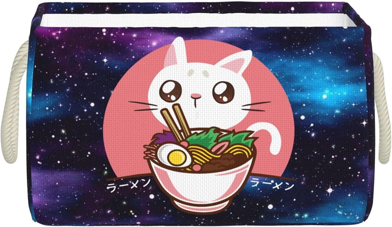 Kawaii Japanese Ramen Noodles Storage Weekly update Max 61% OFF Bins with St Handles Large
