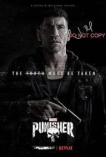 The Punisher Netflix Jon Bernthal reprint signed autographed 12x18 poster photo #3