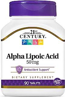 21st Century Alpha Lipoic Acid Tablets, 90 Count