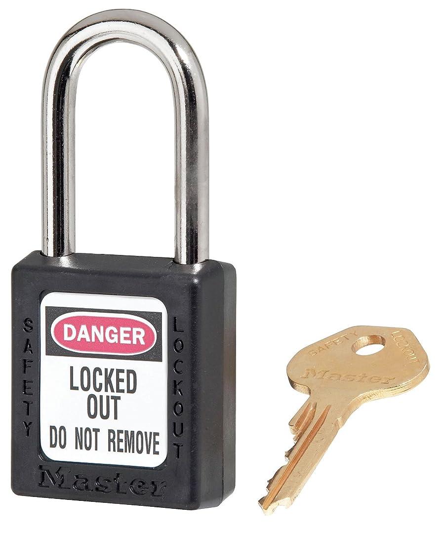 脅かす郵便屋さん通常ロックアウト南京錠、KA、ブラック、高さ1-3/4インチ、PK12。
