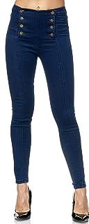 Elara Jeans da Donna Skinny Fit Vita Alta Chunkyrayan