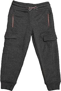 Al & Ema Premium Boy's Cotton Interlock Fleece Jogger Pants with Pockets