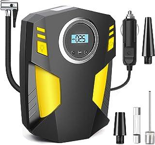 $24 » Sponsored Ad - DIWANGUS Portable Air Compressor Digital Car Tire Inflator 12V DC Car Air Pump with LED Flashlight, 3 Addit...