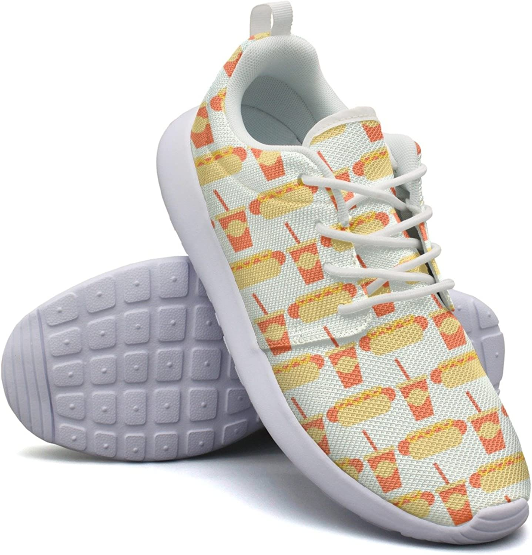 Top Hotdog Holder Woman Navy Design Running shoes
