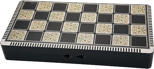 "new arrival Turkish Style Persian Arabic Backgammon Chaquete popular (تخته new arrival نرد) Chess Checker (3 in 1) Set Wood 19.5""x10""x3"" طاولة الزهر online"