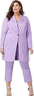 Women's Plus Size Crop Pantsuit