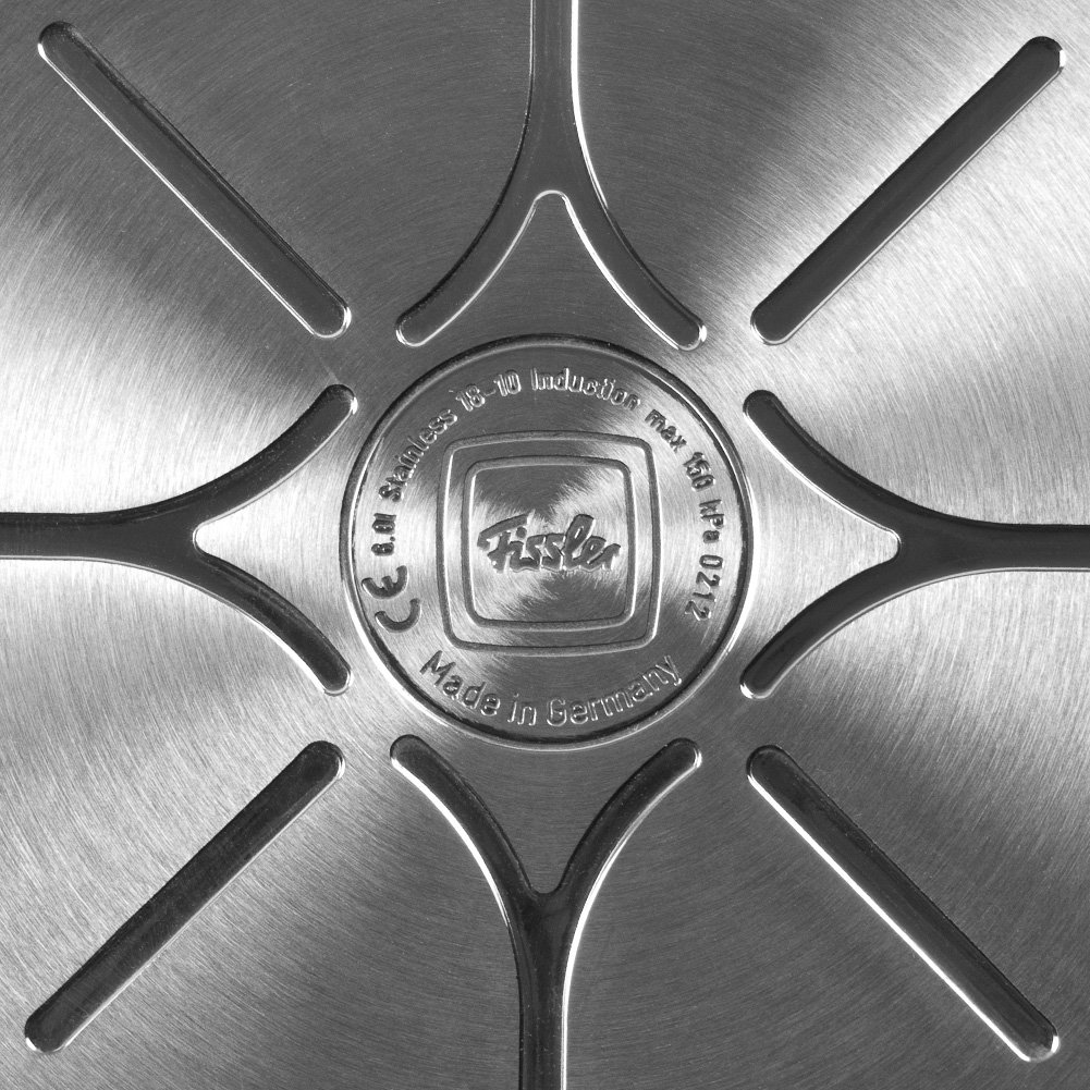 Fissler vitaquick Pressure Coocker Stainless Steel Induction, 6.4 Quart, silver