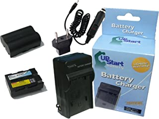 2x Pack - Konica Minolta NP-400 Battery + Charger with Car & EU Adapters - Replacement for Konica Minolta NP-400 Digital Camera Battery and Charger (1600mAh, 7.4V, Lithium-Ion) - Compatible with Pentax K10D, K20D, K10D Grand Prix, D-LI50, K10
