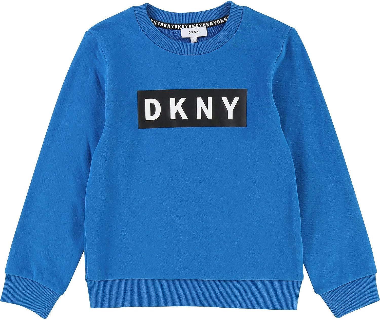 DKNY Sweatshirt mit Logo retroflektierend