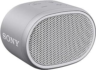 Sony SRS XB01 tragbarer Bluetooth Lautsprecher (Extra Bass, 6h Akku, Spritzwassergeschützt) Grau