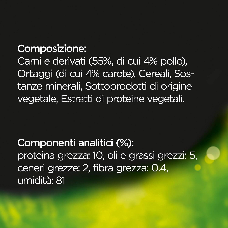 CESAR O selecciones del huerto delicado ybr125 con ternera y verdurine – Paquete de 14 unidades