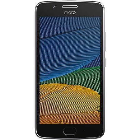"Motorola Moto G5+ Plus 32GB (5th Generation) XT1680 - 5.2"" Full HD, Snapdragon 625, Single SIM GSM Factory Unlocked - International Version - No Warranty (Lunar Gray)"