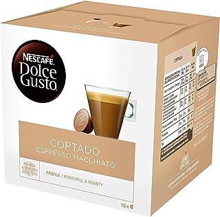 Nescafe Dolce Gusto Cortado Espresso Macchiato Pods 16 per Pack