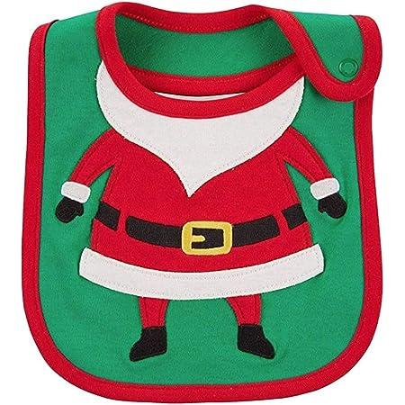 Carters Just One You Baby Christmas Bib Boy//Girl