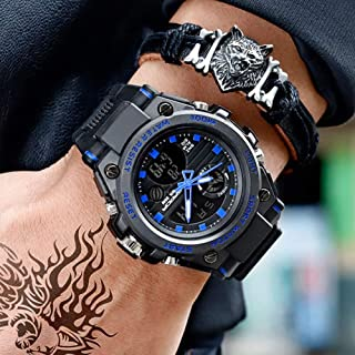 MeterMall Gifts for Boys,Men Student Sports Watch Outdoor Waterproof Special Forces Military Watch Luminous Electronic Wat...