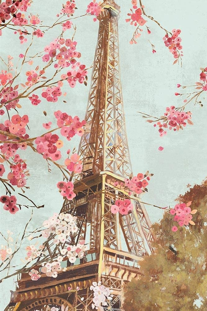 Ranking TOP8 Posterazzi Collection Paris New color in The Spring I by Poster Alli Print