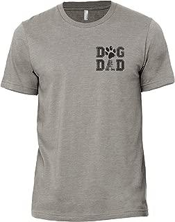 Thread Tank Dog Dad Men's Modern Fit T-Shirt Top Tee