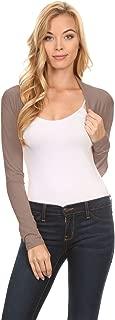 Long Sleeve Bolero Shrug for Women - Made in USA