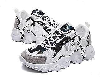 ASMCY Mujer Ligero Zapatillas de Deporte Respirable Moda Carretera Zapatos para Correr Diario Caminando Al Aire Libre Fitn...