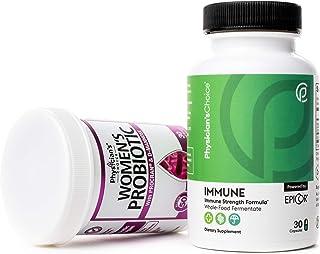 Prebiotics & Probiotics for Women + Immune Support - Immune Booster Featuring EpiCor