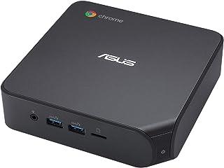 ASUS Chromebox 4 G7009UN - Mini PC - 1 x Core i7 10510U / 1.8 GHz - RAM 8 GB - SSD 128 GB - UHD Graphics - GigE - WLAN: Bl...