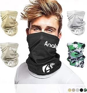 ANALAN Dust Mask Half Face Cover Mask Bandana Neck Gaiter Sun Protection Headwear for Men and Women Girls Boys Outside Sports