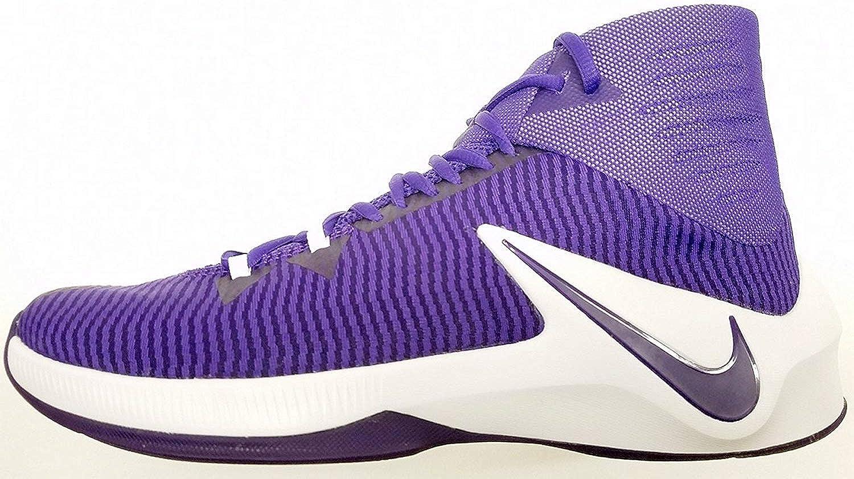 Nike herrar Zoom Rensa Rensa Rensa ut TB Basketballskor lila 84372 555 Storlek 6.5  upp till 70% rabatt