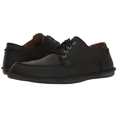 Hush Puppies Arvid Roll Flex (Black Leather) Men