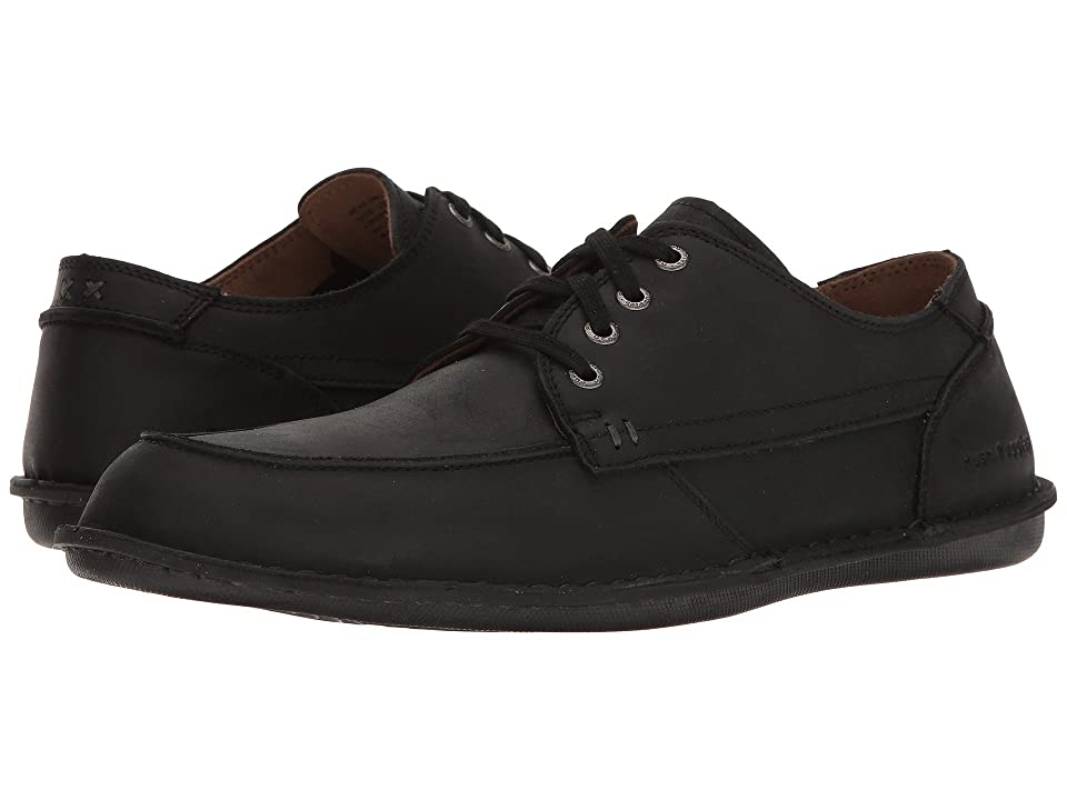 Hush Puppies Arvid Roll Flex (Black Leather) Men