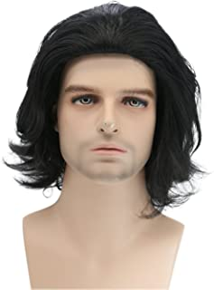 Xcoser Kylo Ren Wig Movie Cosplay Pre-styled Costume Wig Hair Accessories Halloween Party