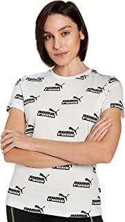 PUMA Women's Amplified AOP Tee T-Shirt