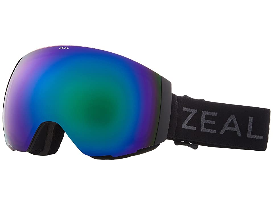 Zeal Optics Portal (Dark Night w/ Polarized Jade Mirror Lens + Sky Blue Mirror Lens) Snow Goggles