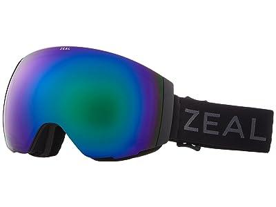 Zeal Optics Portal (Dark Night w/ Polarized Jade Mirror Lens + Sky Blue Mirror Lens) Snow Goggles