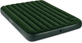 Intex Downy Airbed with Built-in Foot Pump, Queen