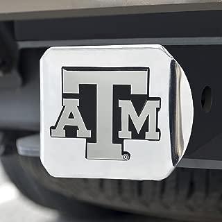 FANMATS 15103 NCAA Texas A&M University Aggies Chrome Hitch Cover