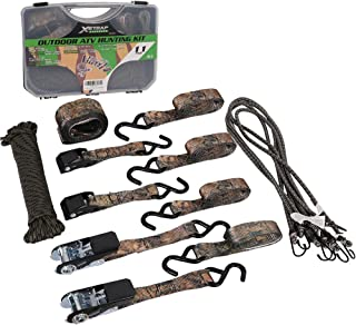 XSTRAP Camouflage Ratchet/Cam Buckle Tie Down Straps 11-Piece Outdoor ATV Hunting Kit