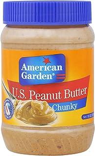 American Garden Chunky Peanut Butter - 510 gm