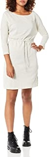 cupcakes and cashmere womens senna boatneck french terry dress with slits Dress