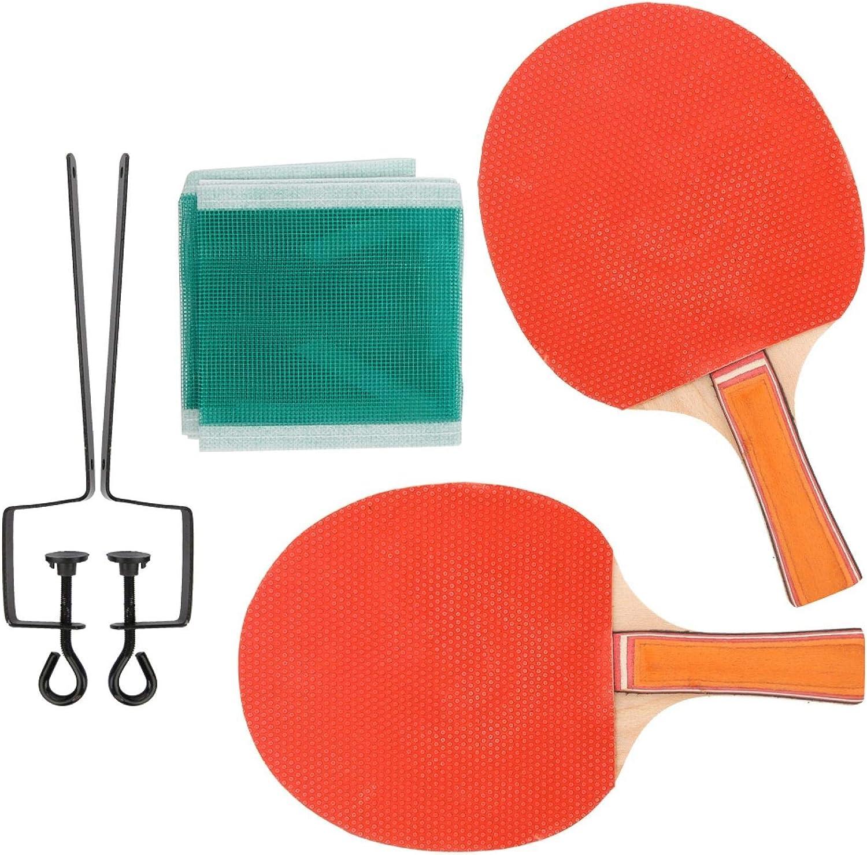 FOLOSAFENAR Mano de Obra Exquisita Placa Base de Madera Pura de Alta Durabilidad Resistente al Desgaste Juego de Padel Bat Ping Pong Equipo Deportivo para Deportes Aptitud para