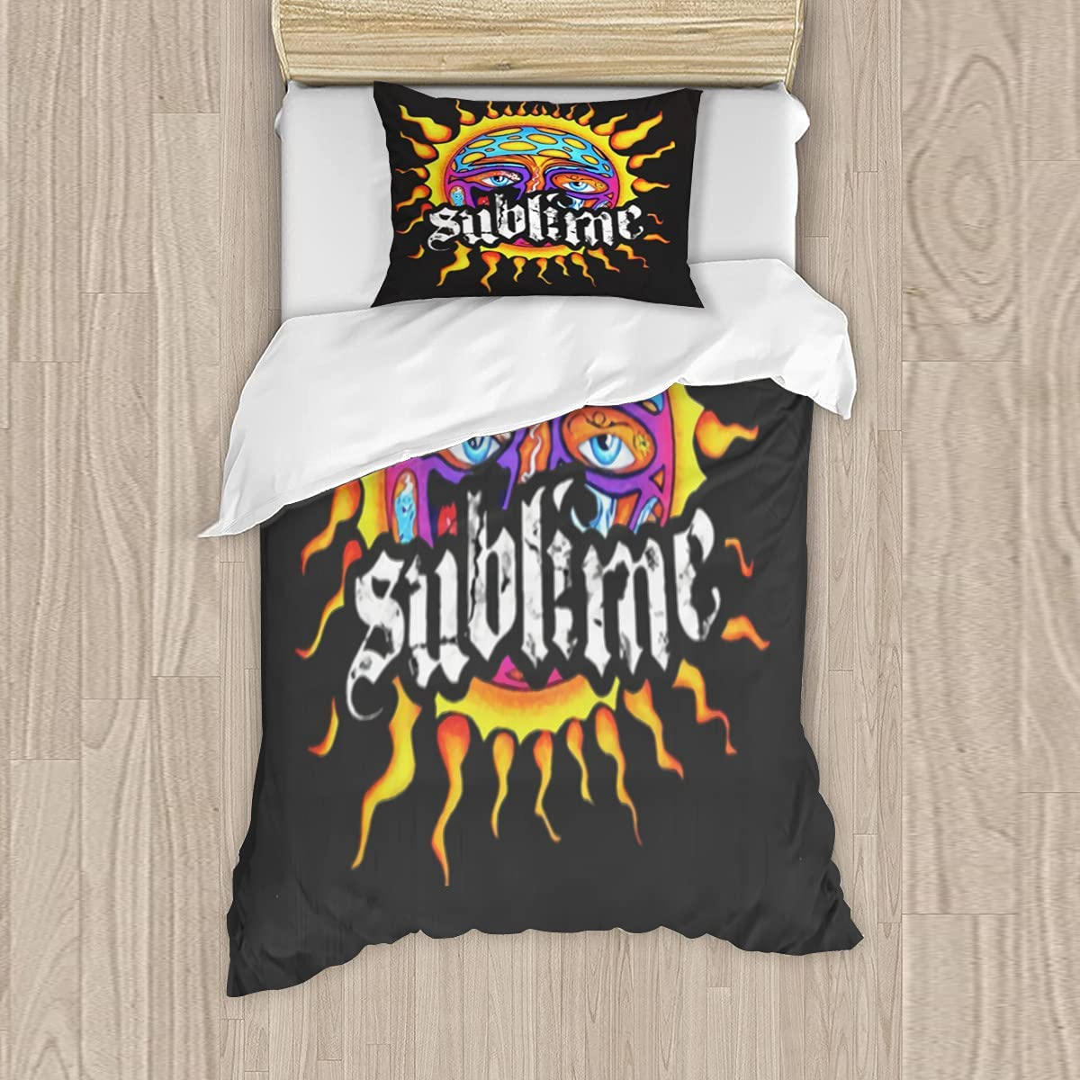 Sb unisex Cool Bedding Sets 3 Pieces 3D Printed Quilt Duvet Cover SEAL limited product