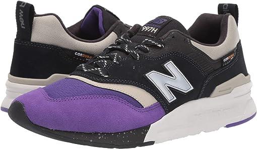 Black/Prism Purple Synthetic/Textile