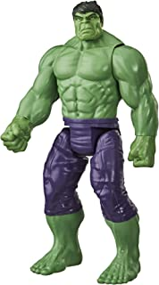 Avengers Marvel Titan Hero Series Blast Gear Deluxe Hulk Action Figure, 12-Inch Toy, Inspired by Marvel Comics, for Kids Ages 4 and Up