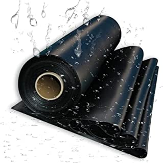 Pond Liner, Black Heavy Duty Pond Liner Protection for Fish Ponds, Streams Fountains and Water Garden,5x3M