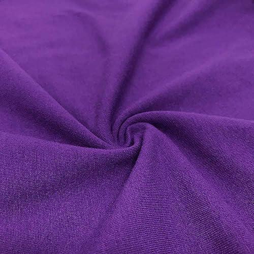 213e19b1b0f Cotton Jersey Lycra Spandex Knit Stretch Fabric 58/60