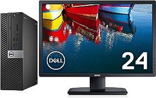 【Dell 24インチフルHD液晶セット】DELL OptiPlex 5040SFF/i5-6500/RAM:16GB/新品SSD:512GB/光学ドライブ/WiFi/Office/KB&マウス附/Win10/画面回転 高さ調整(整備済み品)